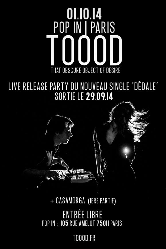 CONCERT RELEASE PARTY LE 01.10.14 AU POP IN (PARIS)